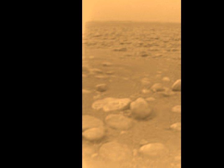 Titan boulders. Color