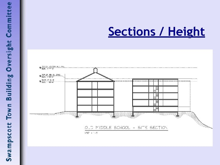 Sections / Height