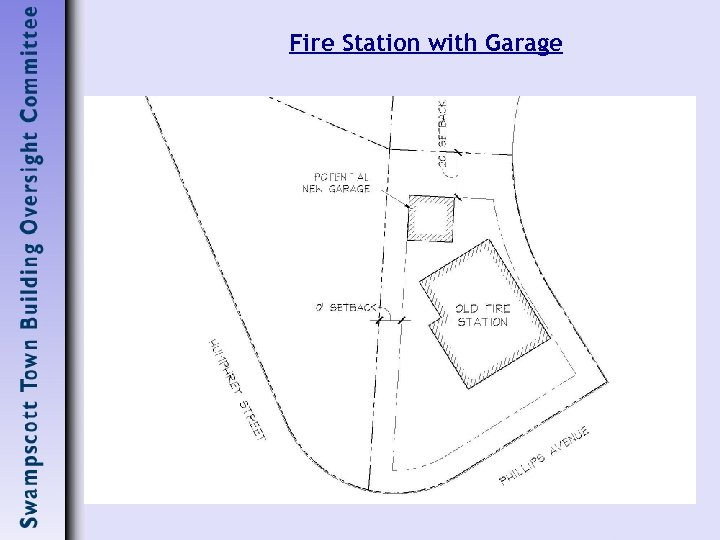 Fire Station with Garage