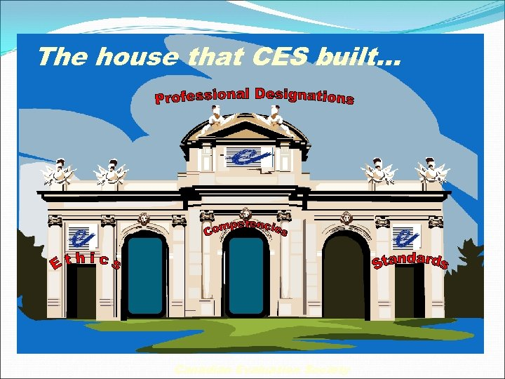 The house that CES built… Canadian Evaluation Society