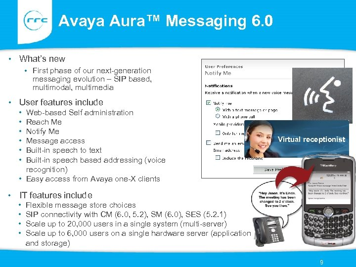Avaya Aura™ Messaging 6. 0 • What's new • First phase of our next-generation