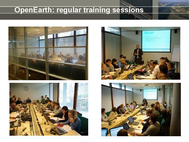 Open. Earth: regular training sessions