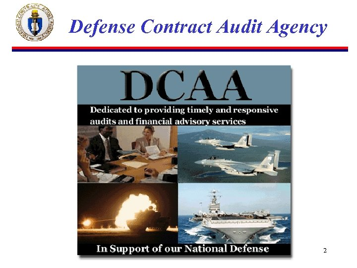 Defense Contract Audit Agency 2