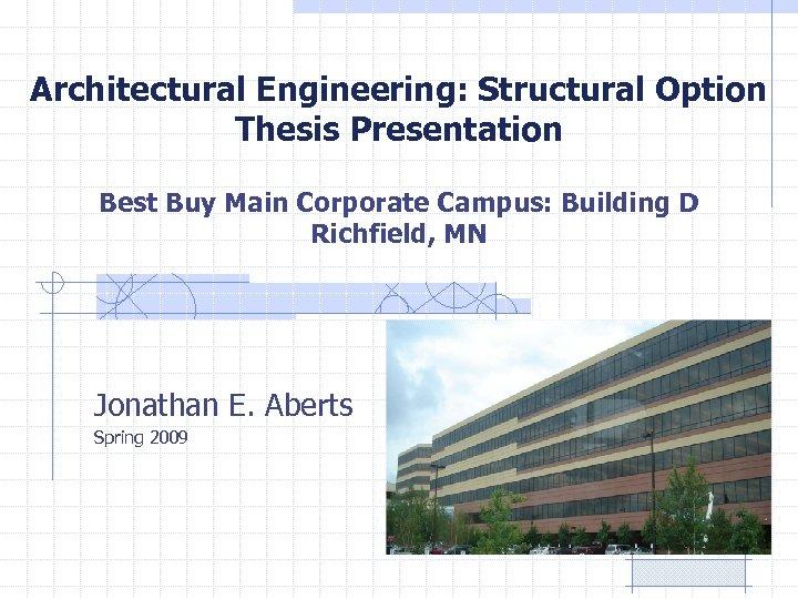 Buy engineering thesis