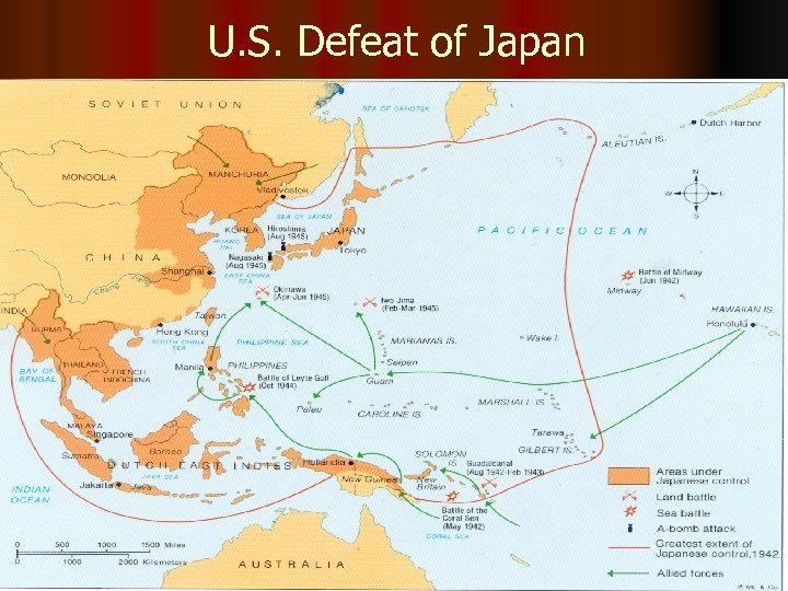 U. S. Defeat of Japan