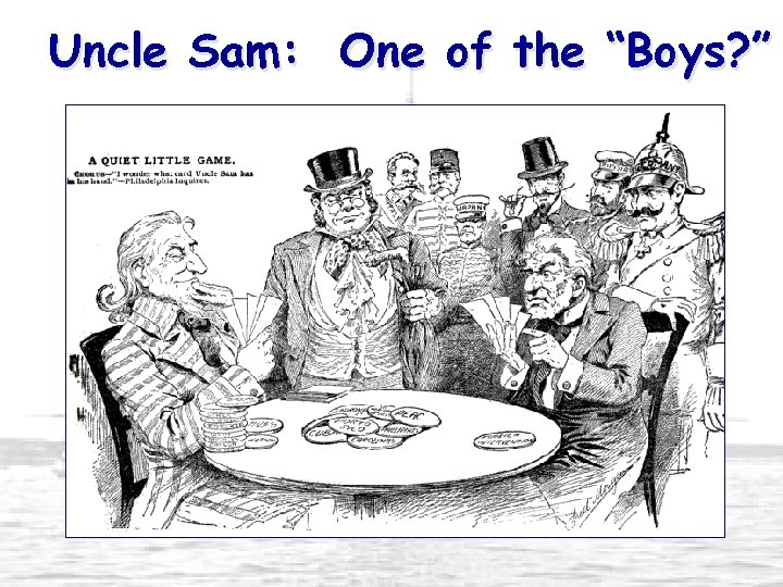 """Uncle Sam: One of the """"Boys? """""""