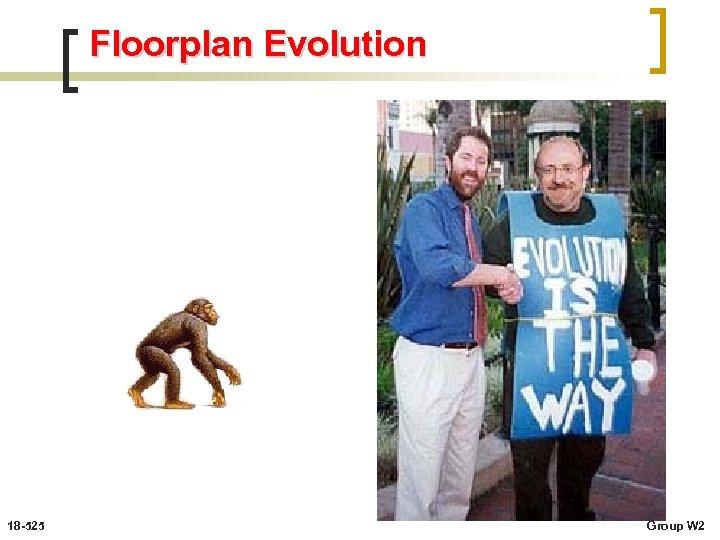 Floorplan Evolution 18 -525 Group W 2