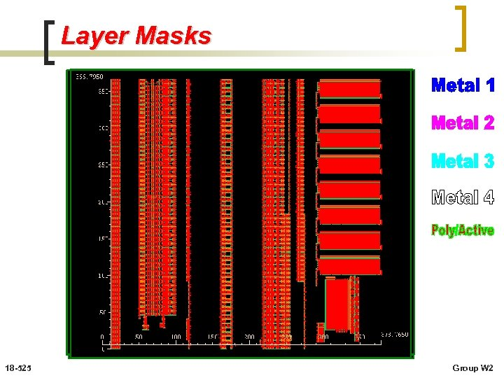 Layer Masks 18 -525 Group W 2
