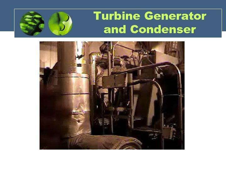 Turbine Generator and Condenser