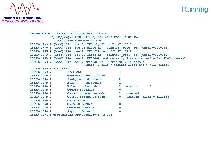 Running www. softwaretoolhouse. com Meta-Update 155234. 109 155234. 750 155234. 765 155234. 953 155234.