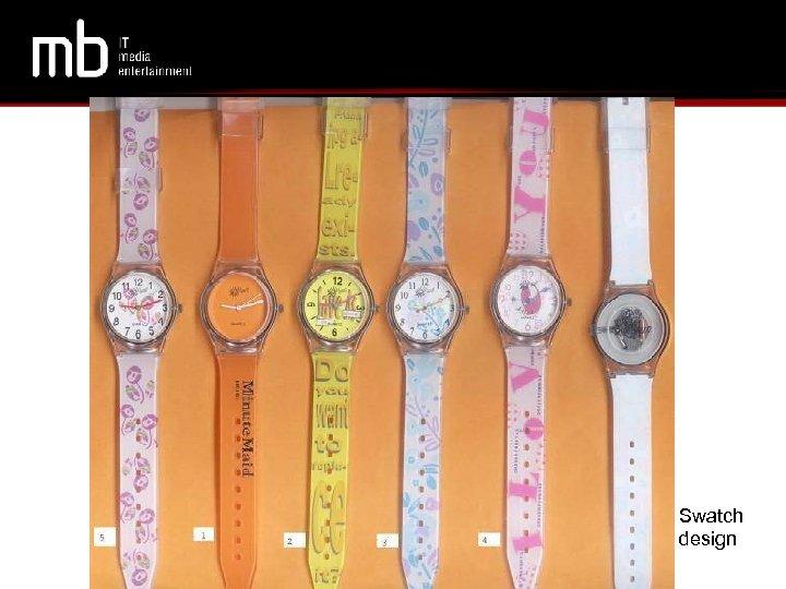 Swatch design