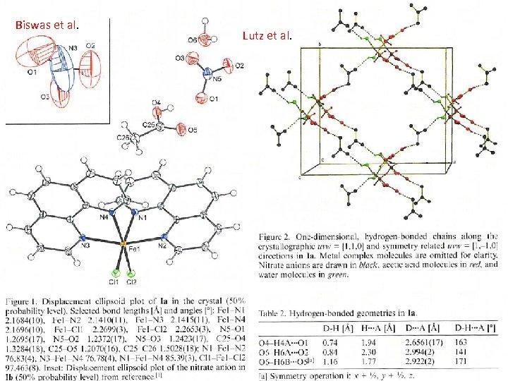 Biswas et al. Lutz et al.