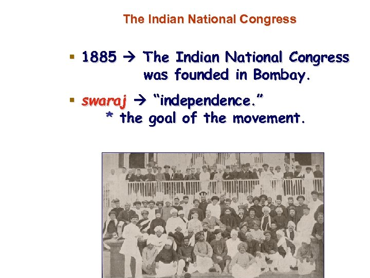 when was the indian national congress founded