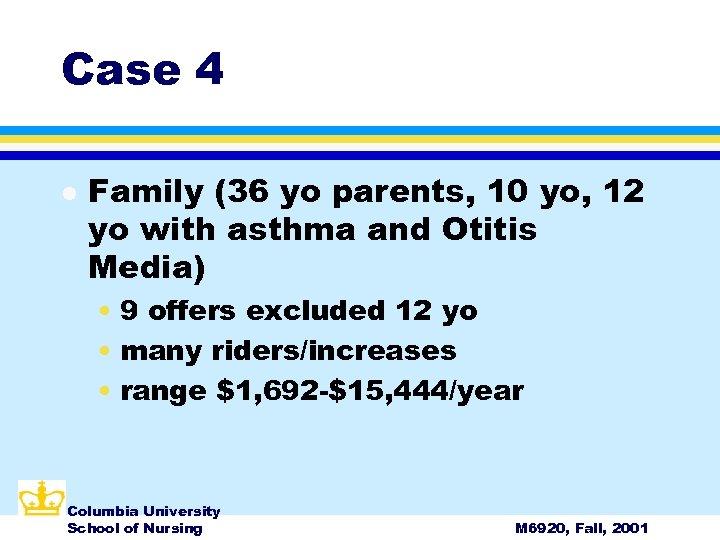 Case 4 l Family (36 yo parents, 10 yo, 12 yo with asthma and