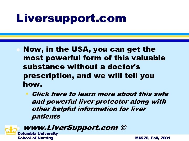 Liversupport. com l Now, in the USA, you can get the most powerful form