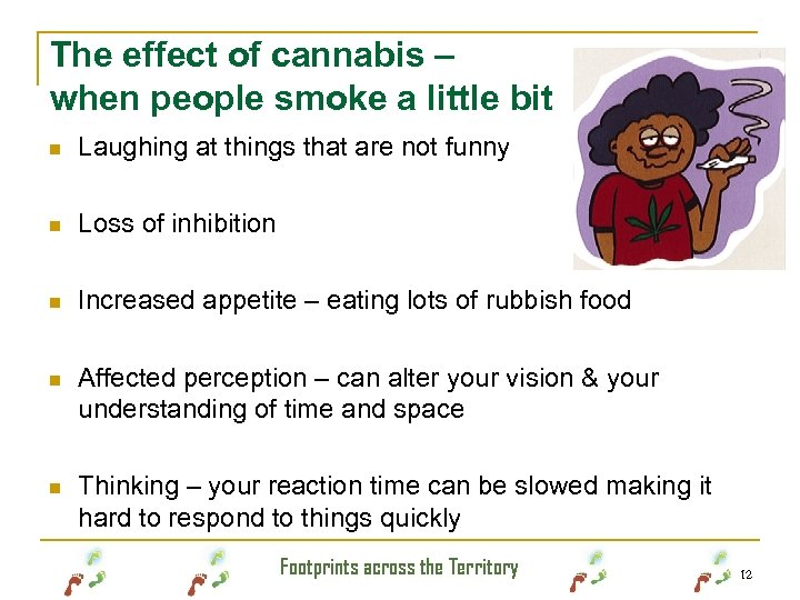 The effect of cannabis – when people smoke a little bit n Laughing at