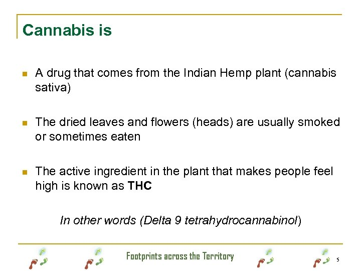 Cannabis is n A drug that comes from the Indian Hemp plant (cannabis sativa)