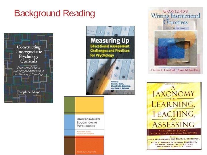 Background Reading