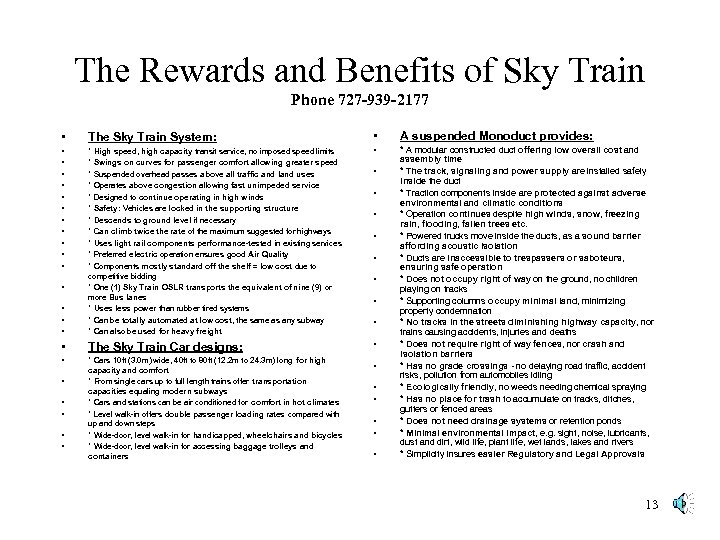 The Rewards and Benefits of Sky Train Phone 727 -939 -2177 • The Sky