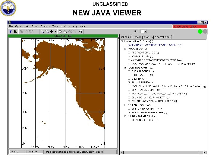 UNCLASSIFIED NEW JAVA VIEWER
