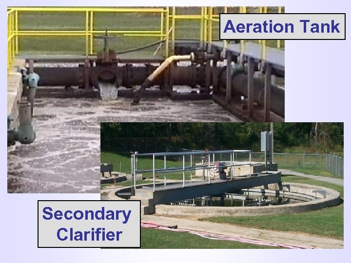 Aeration Tank ADSORPTION And ABSORPTION Secondary Clarifier