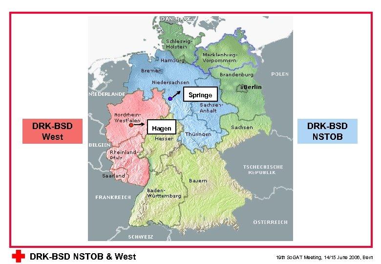 Springe DRK-BSD West DRK-BSD NSTOB & West Hagen DRK-BSD NSTOB 19 th So. GAT