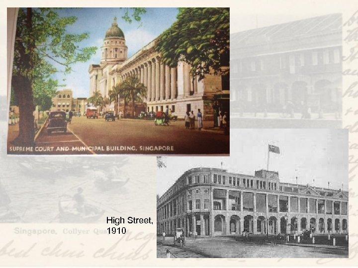 High Street, 1910