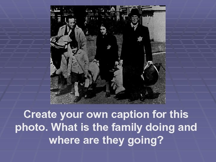 Create your own caption for this photo. What is the family doing and where