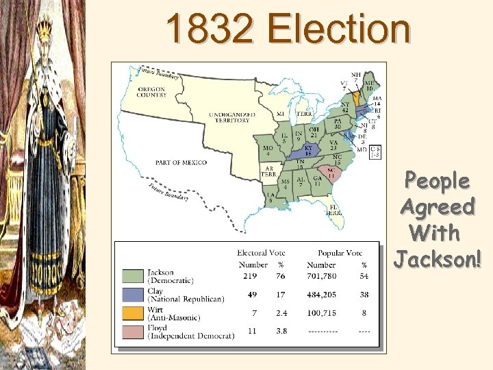 1832 Election Results People Agreed With Jackson!