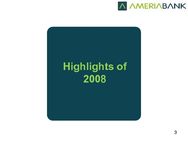 Highlights of 2008 3