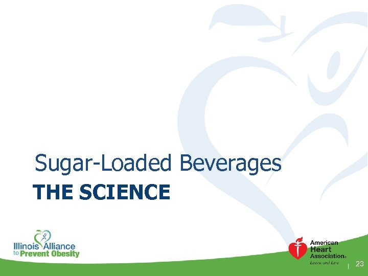 Sugar-Loaded Beverages THE SCIENCE 23
