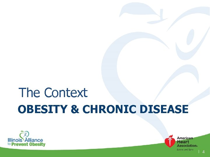 The Context OBESITY & CHRONIC DISEASE 4
