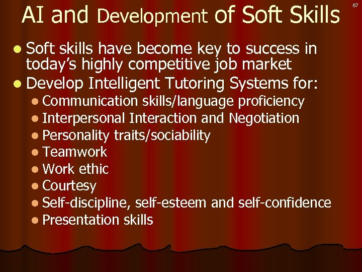 AI and Development of Soft Skills l Soft skills have become key to success