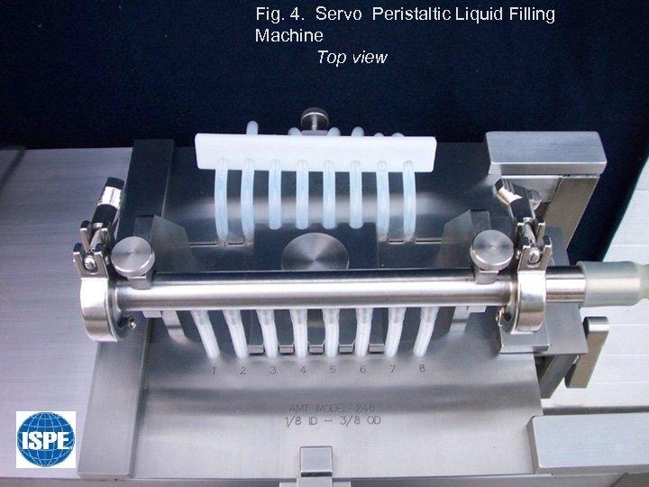 Fig. 4. Servo Peristaltic Liquid Filling Machine Top view
