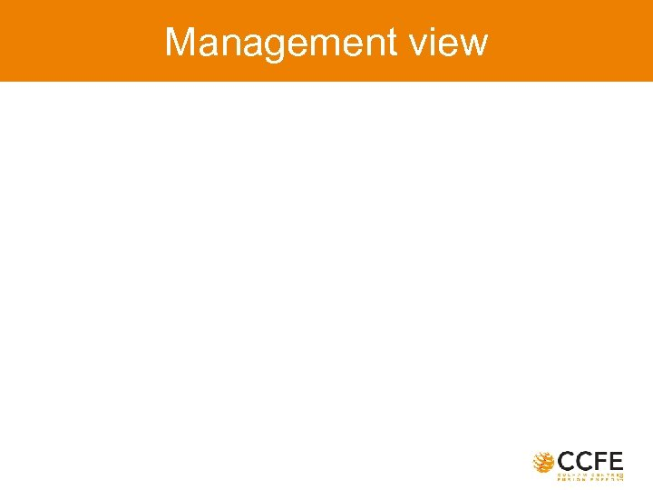 Management view