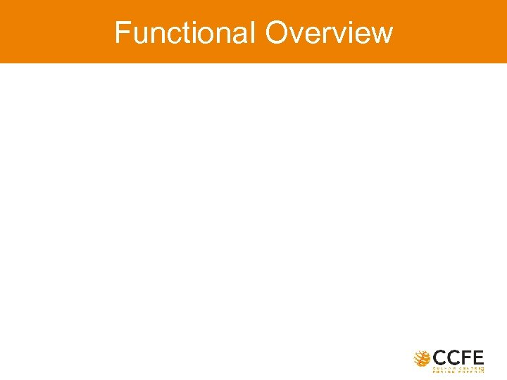 Functional Overview