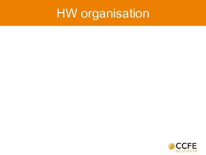 HW organisation