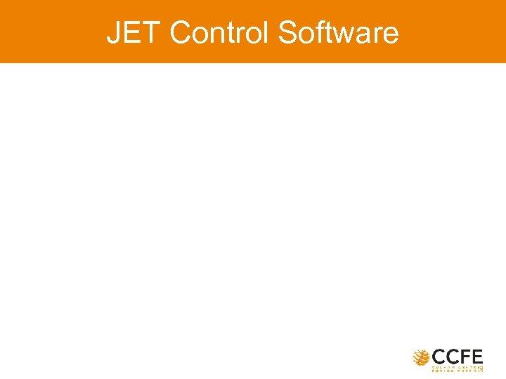 JET Control Software
