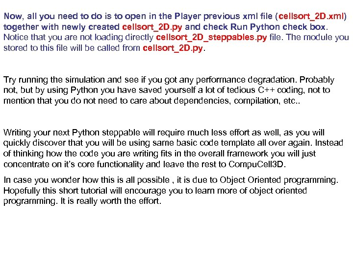 Now, all you need to do is to open in the Player previous xml