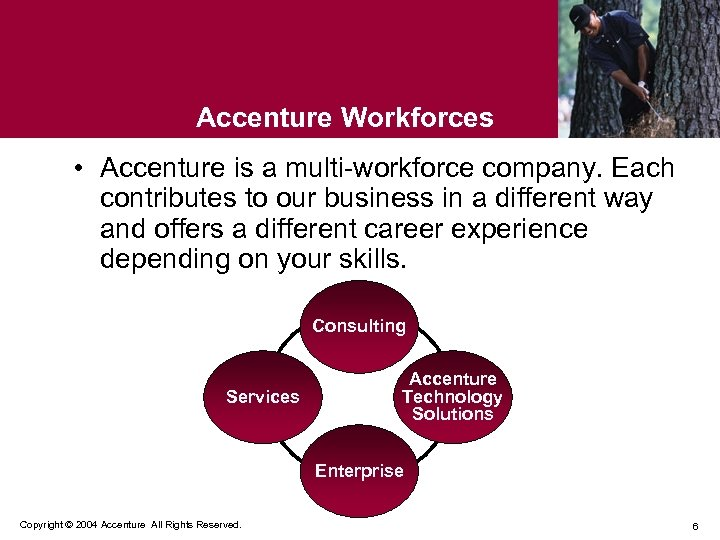 Accenture Workforces • Accenture is a multi-workforce company. Each contributes to our business in