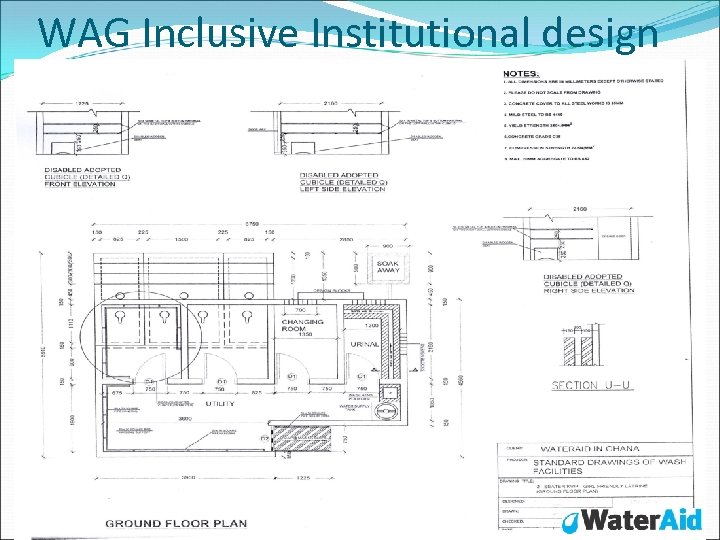 WAG Inclusive Institutional design
