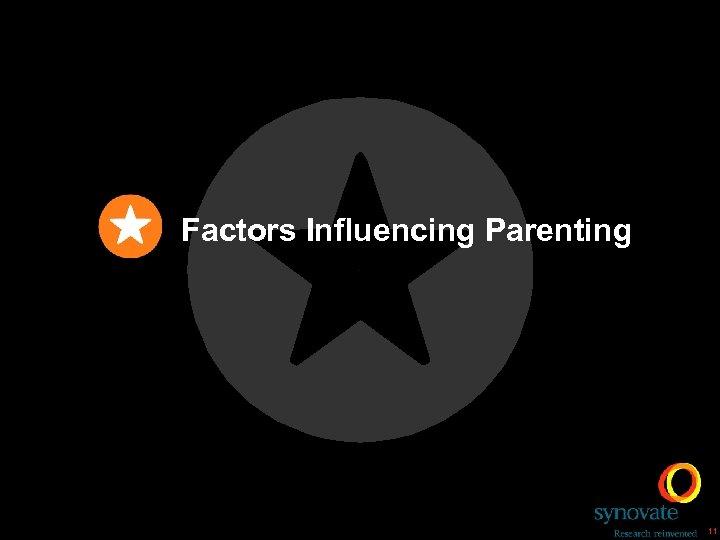 Factors Influencing Parenting 11