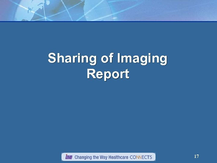 Sharing of Imaging Report 17