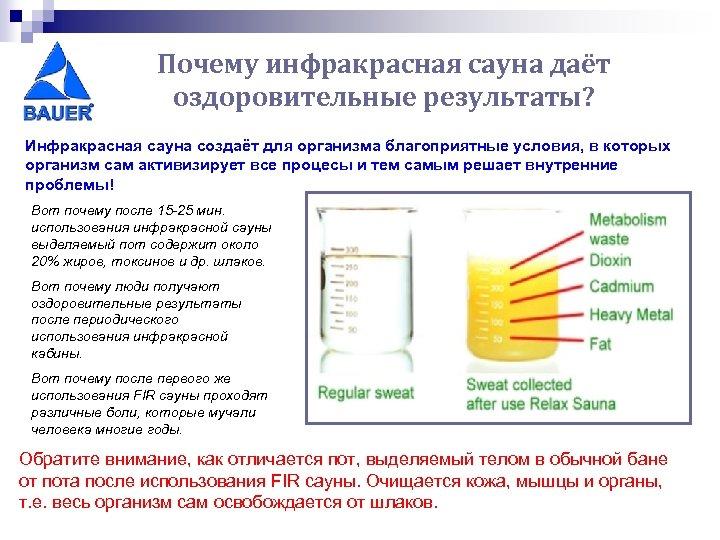 Почему инфракрасная сауна даёт оздоровительные результаты? Инфракрасная сауна создаёт для организма благоприятные условия, в