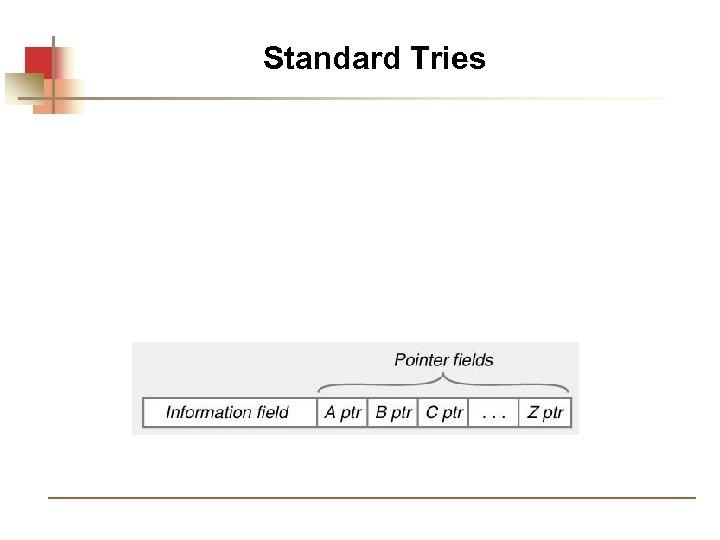 Standard Tries
