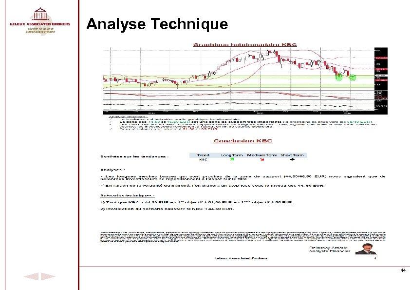 Analyse Technique 44