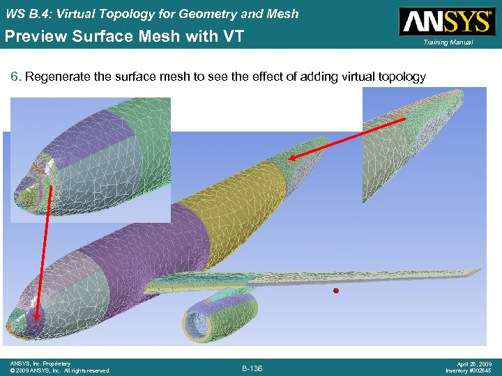 WS B. 4: Virtual Topology for Geometry and Mesh Preview Surface Mesh with VT