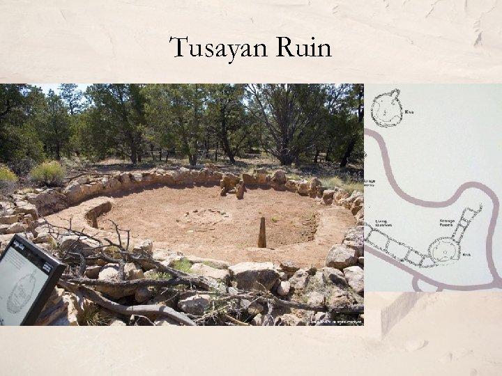 Tusayan Ruin • Južni obod Velikog kanjona • Hauri 1930. • Pueblo U-plana, sa