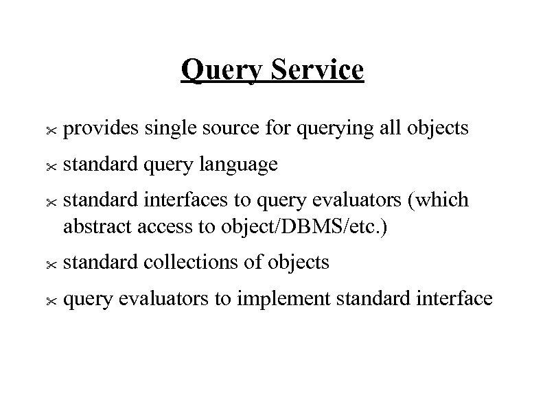 Query Service