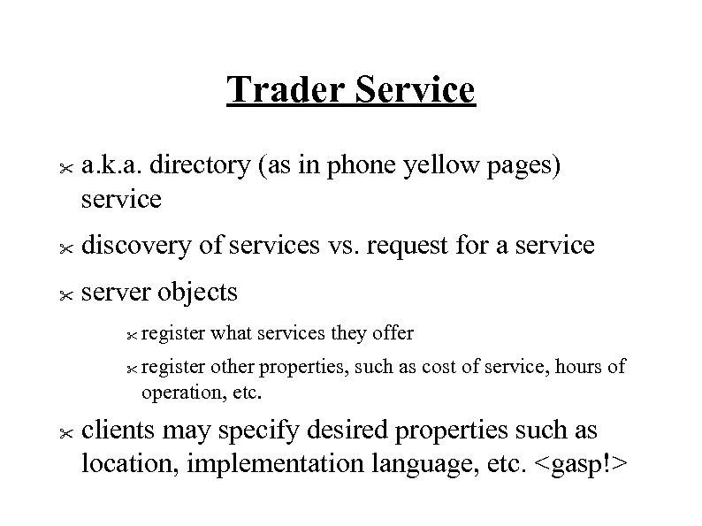Trader Service
